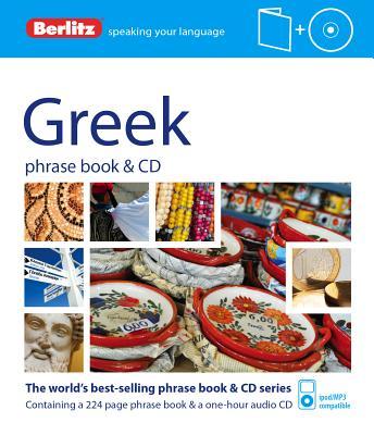 Berlitz Greek Phrase Book + Cd By Berlitz International, Inc. (COR)